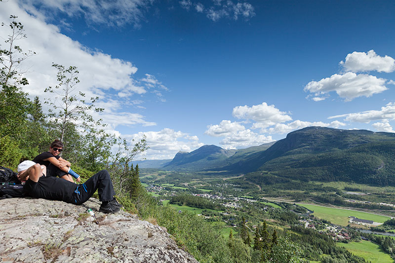 20 peaks – hiking challenge in Hemsedal