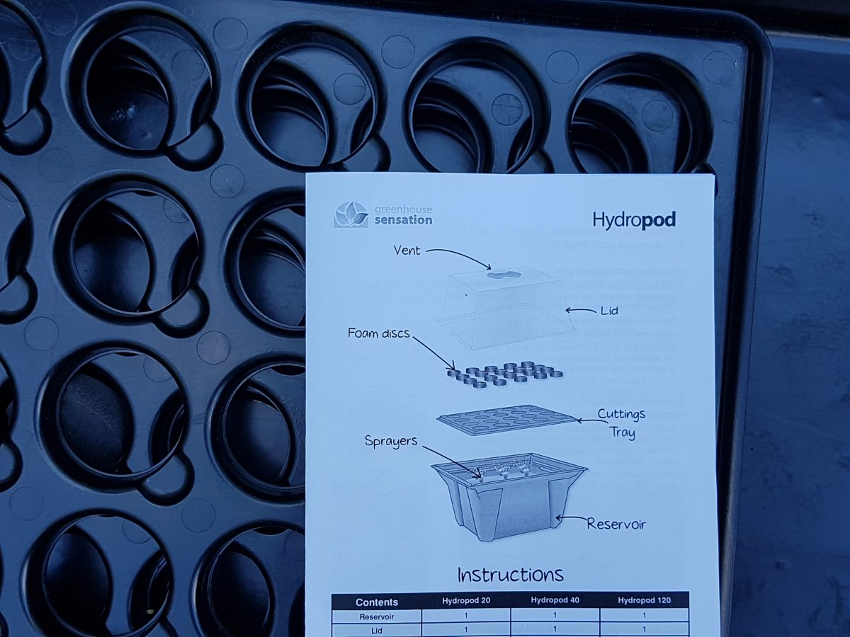 Makalös manick - hydropod