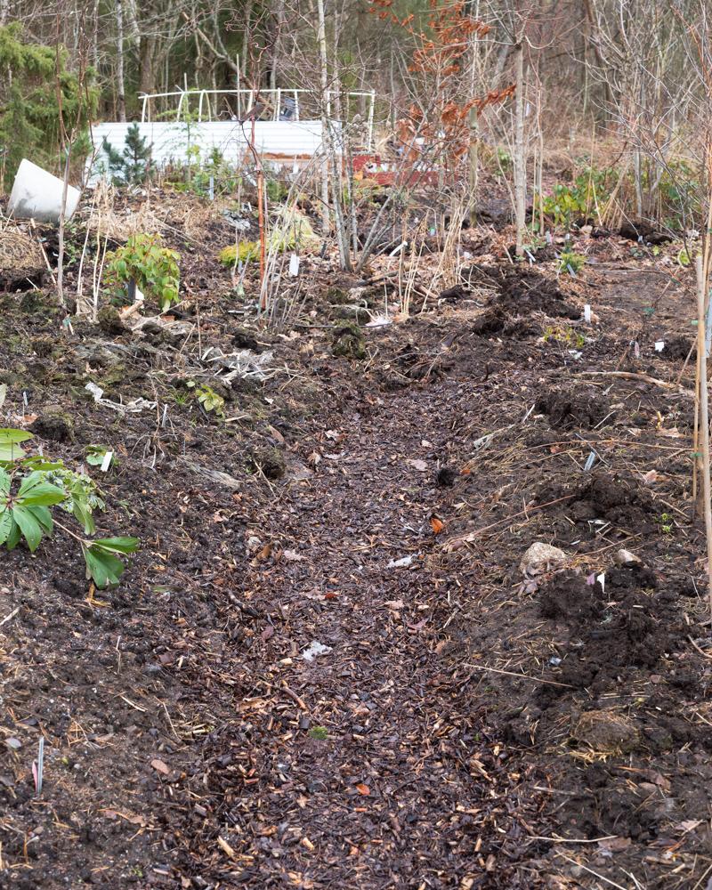 Bra jord - flis från kompostkvarn